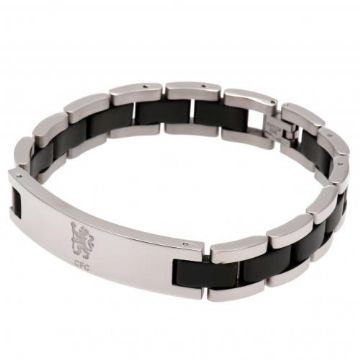 Chelsea FC Black Inlay Bracelet